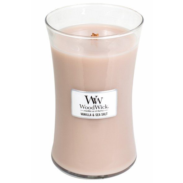 Woodwick Vanilla& Sea Salt Large